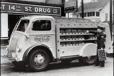 1949 White COE Coca Cola truck