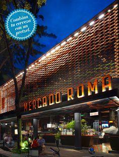 Para los apasionados de la cerveza: Grüner Hof Biergarten (Mercado Roma) - Colonia Roma Ciudad de México