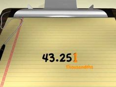 Video:  Reading Numbers With Decimals