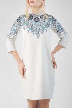 """Сукня HRW-DR09 - унікальний вишитий одяг від студії """"Гойра"""" (Львів). Великий вибір вишитих суконь, індивідуальний пошив. Замовляйте!"""
