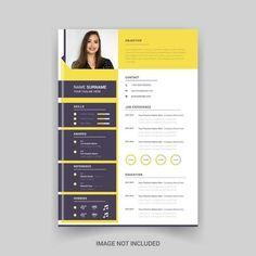 Rstech | Freepik Modern Cv Template, Resume Design Template, Creative Resume Templates, Brochure Template, Black Business Card, Elegant Business Cards, Business Poster, Business Brochure, Timeline Infographic