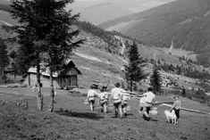 Lendak znašanie mlieka Nostalgia, Europe, History, Retro, Life, Outdoor, Art, Antique Pictures, Black N White