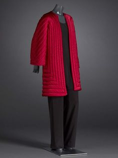 Evening jacket, silk, Halston designer, American, late 1970s