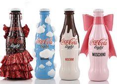 Diseño de botellas de Coca-Cola