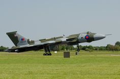The Vulcan at RAF Waddington 2013, bearing the name of my late husband on the bomb bay doors.