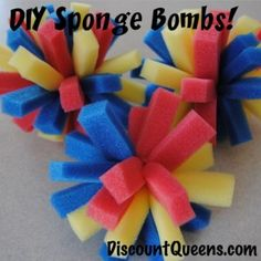 DIY Sponge Bombs!!!!