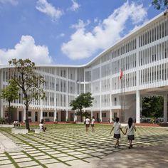 """People in Vietnam want green buildings"" - Vo Trong Nghia on Binh Duong School"
