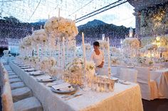 magical set up by Bali Catering Company