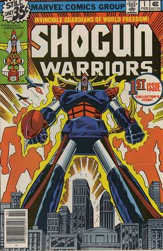 Shogun Warriors comics-oh how I wanted my own giant robot...