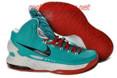 c85083e74ee7 New Nike Zoom KD V Kevin Durant 5 Shoes On Sale Tiffany Blue Cym Red White