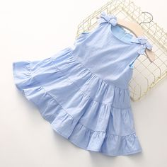 Одежда детей ребенок случайный жилет юбка 2018 летом носить новый Хан издание девочек детская платье ребенка кв-3379-Таобао