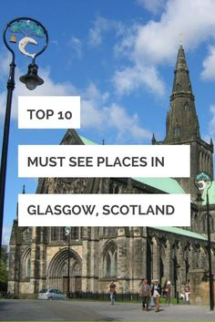 Glasgow is Scotland's second city and a great place to eat, drink and visit the city's many cultural attractions. Here are the best places to go...