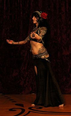 Bespoke Professional Tribal Belly Dance Costume by SnakeChurch, $700.00