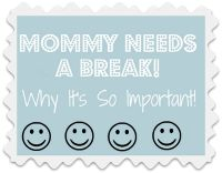 Being a Mom is hard.  We all need breaks so we can be better Moms...new research even gives us evidence so we can take a break without feeling guilty!