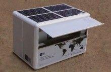 SolarKiosk - a portable solar power supply.