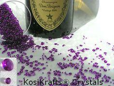 KosiKrafts® 4000 PURPLE (10) Crystal Diamond Diamonds Scatter Table Decorations, Celebrations, Wedding, Confetti, Party, Gems, Gem Stones, Special Occasion, (10) Crystals http://www.amazon.co.uk/dp/B00HDJE6LK/ref=cm_sw_r_pi_dp_EZQfub0PZ9E5B