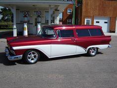 '57 Ford Del Rio 2 Door Wagon