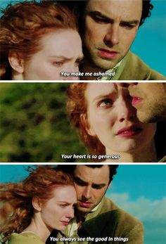 Why I love Demelza so much - I mean, if you can make ROSS feel selfish by comparison...