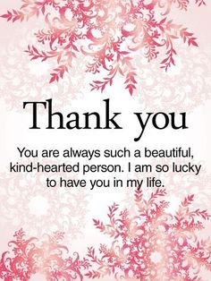 1453 best thank you images on pinterest in 2018 appreciation cards send free to a kind hearted person thank you card to loved ones on birthday greeting cards by davia its free and you also can use your own customized m4hsunfo