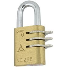 easylocks Brass Lever Combination Padlock -  Combination Padlocks