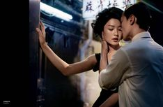 "Models: Du Juan & Tim Lim | Photographer: Vincent Peters - ""Love Story"" for Numéro China September 2011 (via http://fashiongonerogue.com/du-juan-vincent-peters-numero-china-september-2011) Clearly inspired by Wong Kar Wai's ""In the Mood For Love"" 