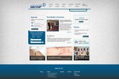 Site GEANF - www.acuneuro.com.br - melhorias funcionais e retoques visuais para 2015.