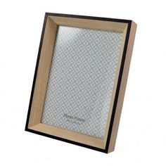 Large Wood with Black Photo Frame $14.50 #photo #frames #homedecor