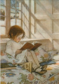 Jessie Willcox Smith...adorable print for a little girl's room