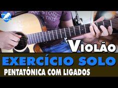 GANHANDO VELOCIDADE NO SOLO VOL:1 - EXERCÍCIO DE PENTATÔNICA (LICK MUITO FÁCIL) - YouTube
