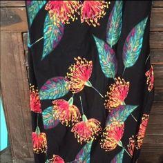 Lularoe OS floral leggings. Lularoe floral OS leggings. BNWT HTF LuLaRoe Pants Leggings