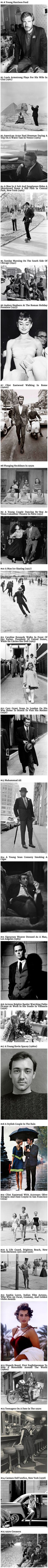 20+ Historic Photos That Show People Had More Class In The Past.