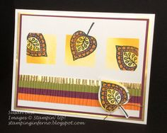 Lighthearted Leaves, Stampin' Up!, What Will You Stamp?, WWYS, stampinginferno.blogspot.com