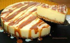 Tarta de queso y leche condensada | Cocina
