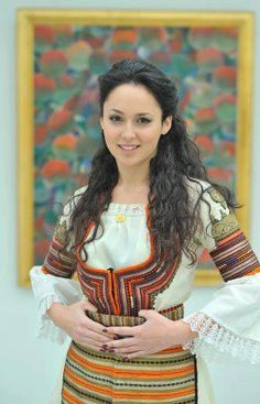 Bulgarian girl in traditional BG costume - JMB Active Travel specialist for Bulgaria  http://www.jmb-active.com/?page=dmc_bulgaria #bulgaria #dmc #travel