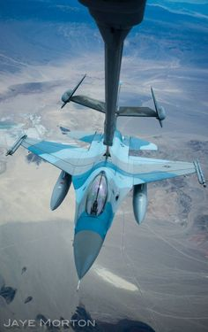 Behold The Amazing Images Of This USAF Aerial Refueling Boom Operator A USAF Aggressor F-16C plugs in