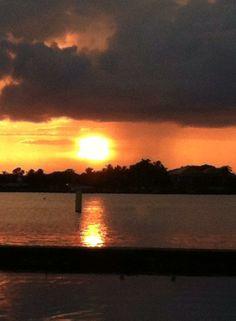 Terry Mahoney-Sunset in Jensen Beach FL
