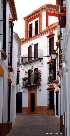 Calle Juan de Lugo. Carmona Sevilla Spain
