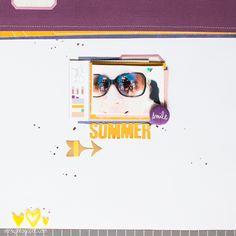 Summer by Veera #Scrapbooking