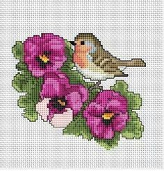 Chicken Cross Stitch, Tiny Cross Stitch, Cross Stitch Heart, Cross Stitch Alphabet, Cross Stitch Animals, Cross Stitch Flowers, Funny Cross Stitch Patterns, Cross Stitch Designs, Cross Stitching