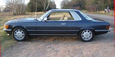 1974 Mercedes Benz 450 SLC