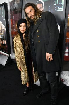 """celebsofcolor: """"Lisa Bonet and Jason Momoa attend the Premiere Of Warner Bros. Pictures' 'Live By Night' at TCL Chinese Theatre on January 9, 2017 in Hollywood, California. """""""