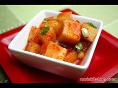 Korean Radish Kimchi – Aeri's Kitchen