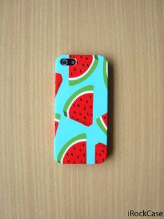 Pastel Watermelon Pattern iPhone Case Color by iRockCase on Etsy