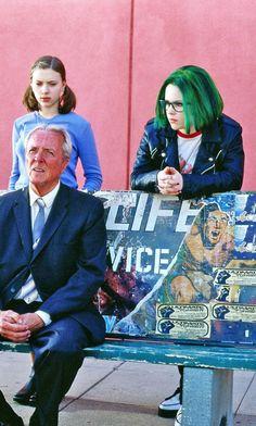 """""""Ghost World"""" (2001) --- Thora Birch, Scarlett Johansson & Steve Buscemi"""