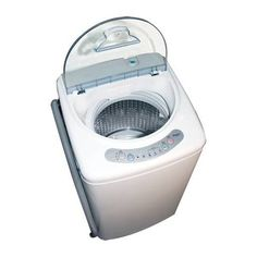 Convenience in a Compact Package only 1 cubic foot capacity, maybe a little big for washing daily, but I didn't find one smaller