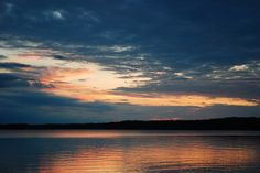 Sunset over Grindstone Lake - Hayward, WI Hayward Wisconsin, Small Towns, Places Ive Been, Reflection, Hunting, Landscapes, Wanderlust, Outdoors, Earth