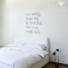 1000 images about vinilos on pinterest frases wall for Frases para cuartos de ninas