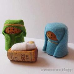 Great use of corks and a fun project for the kids.