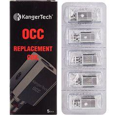 Kangertech Subtank OCC Replacement Coils (Pack of Five) Vape Coils, Ebay, Vaping, Health, Fashion, Moda, Electronic Cigarette, Health Care, Fashion Styles