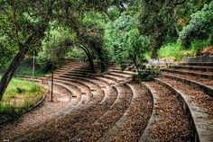 Inside Foster Park Bowl, Ventura, California